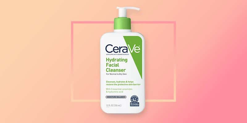 CeraVe Hydrating Face Wash (Dry Skin)