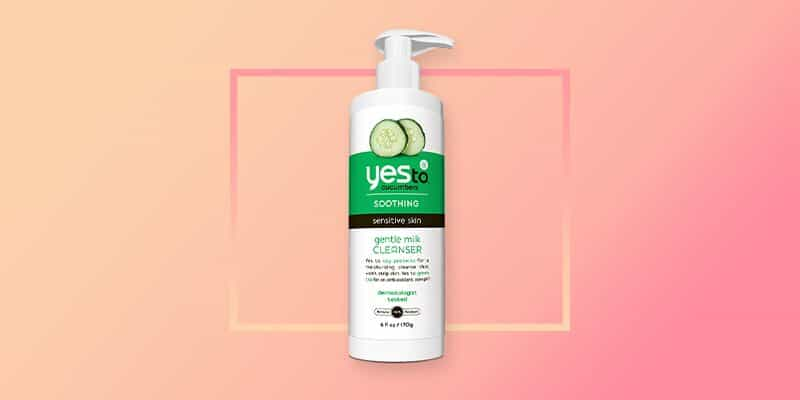 Yes To Cucumbers Gentle Milk Face Wash (Normal to Dry)