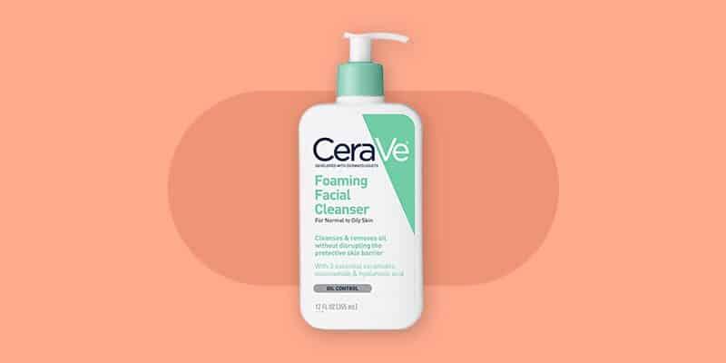 CeraVe Foaming Face Wash for Acne Prone Skin