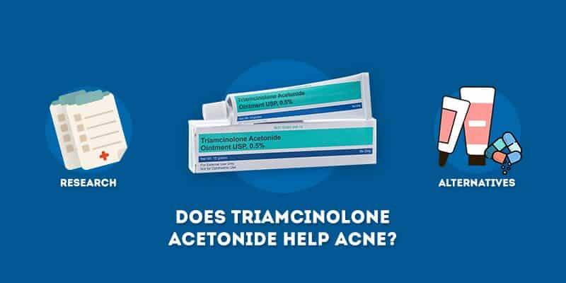 Does triamcinolone acetonide help acne