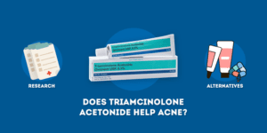 Does triamcinolone acetonide help acne