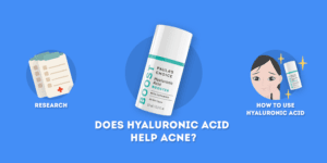does hyaluronic acid help acne