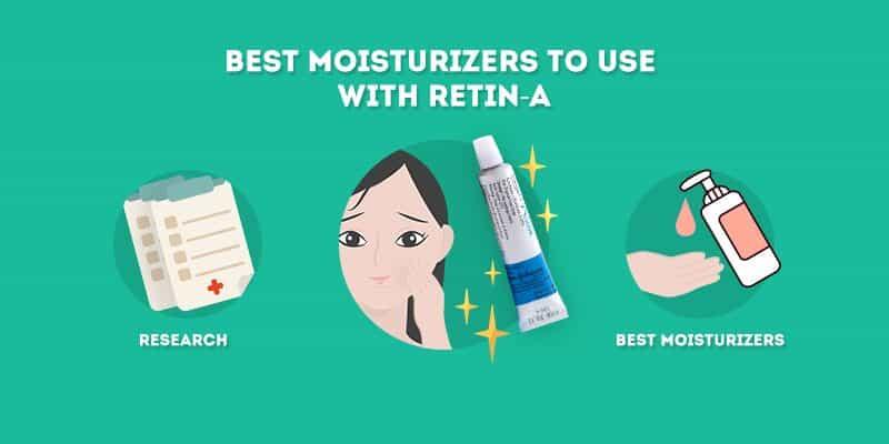 best moisturizer to use with retin a tretinoin