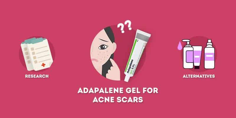 adapalene gel for acne scars