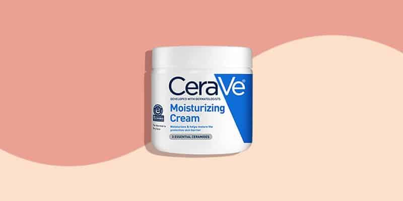 CeraVe Moisturizing Cream (Very Dry Skin)