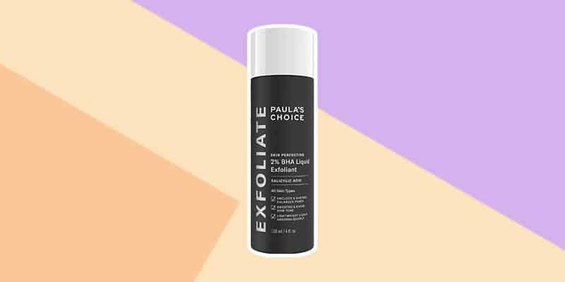 Paulas Choice 2% BHA is perfect for oily skin and large pores