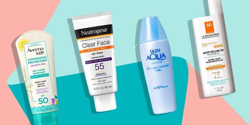 best facial sunscreens
