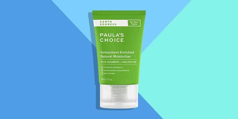 Best Natural: Paula's Choice Earth Sourced Antioxidant Enriched Natural Moisturizer