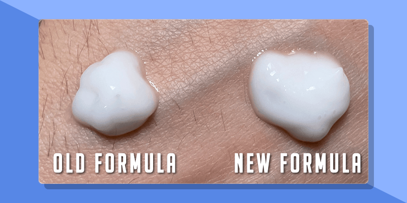 cerave pm formula old vs new comparison