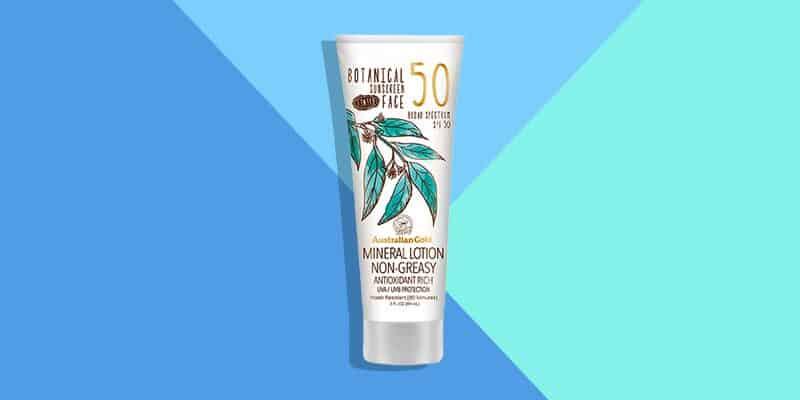 Best Drugstore: Australian Gold Botanical Sunscreen SPF 50