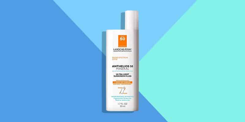 Best Mineral: La Roche-Posay Anthelios Mineral Zinc Oxide Sunscreen SPF 50