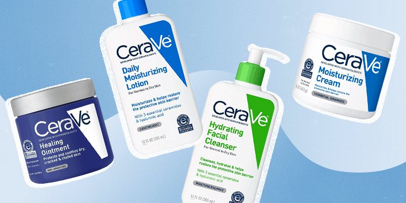 best cerave products for dry skin