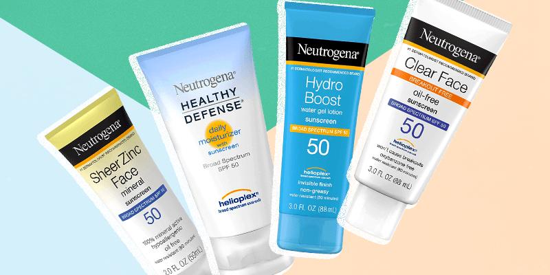 Best Neutrogena Sunscreens